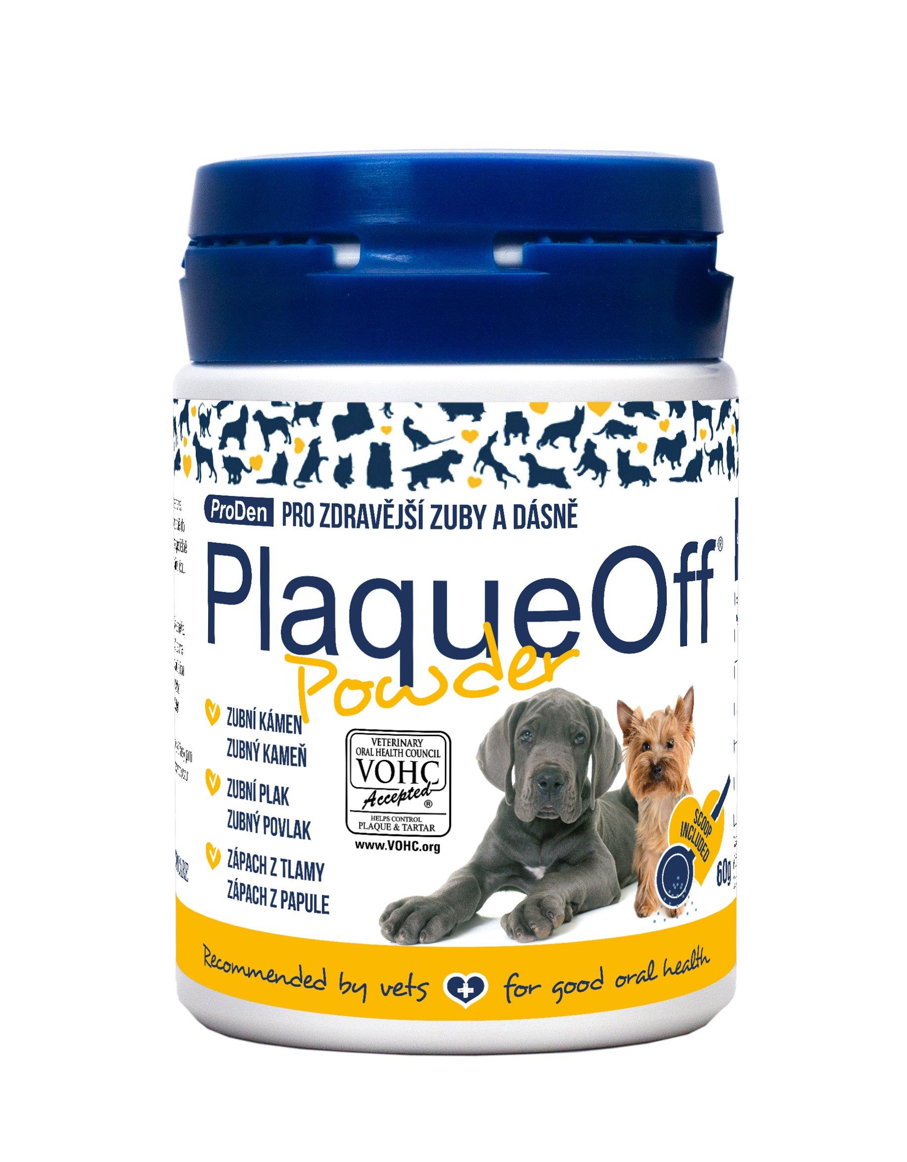ProDen PlaqueOff™ PlaqueOff™ prášek pro zdravé zuby a odstranění zápachu | 60g