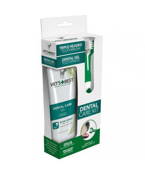 Vet's Best sada na čištění zubů pro psy