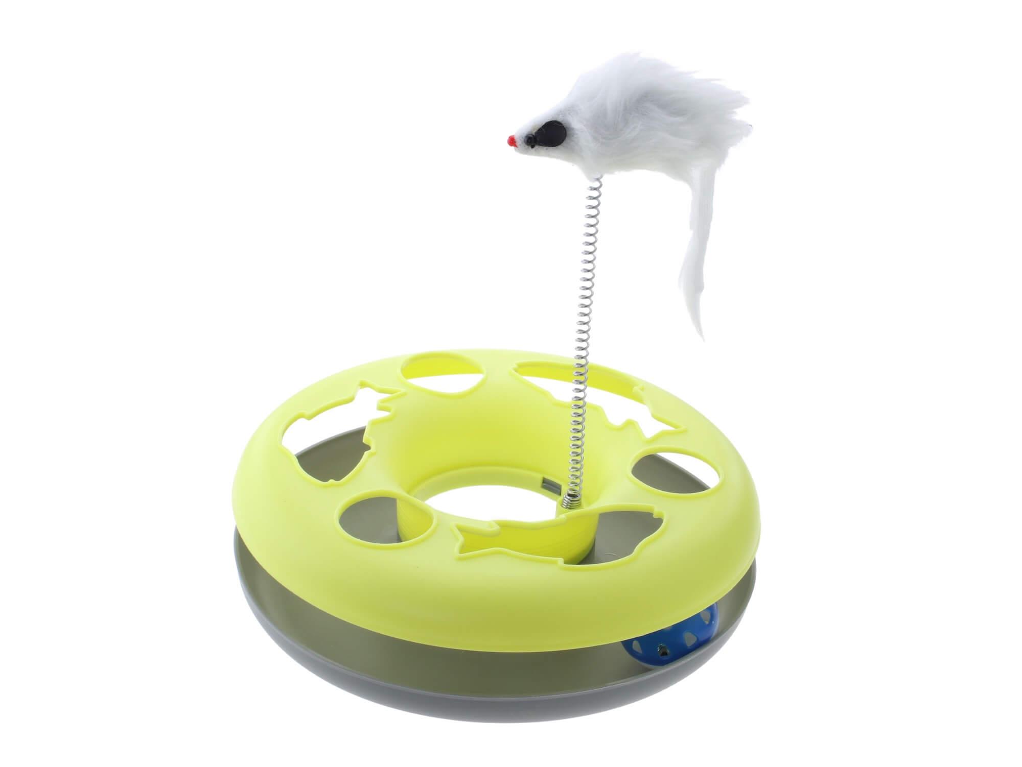 Vsepropejska Erbo interaktivní hračka pro kočku Barva: Žlutá