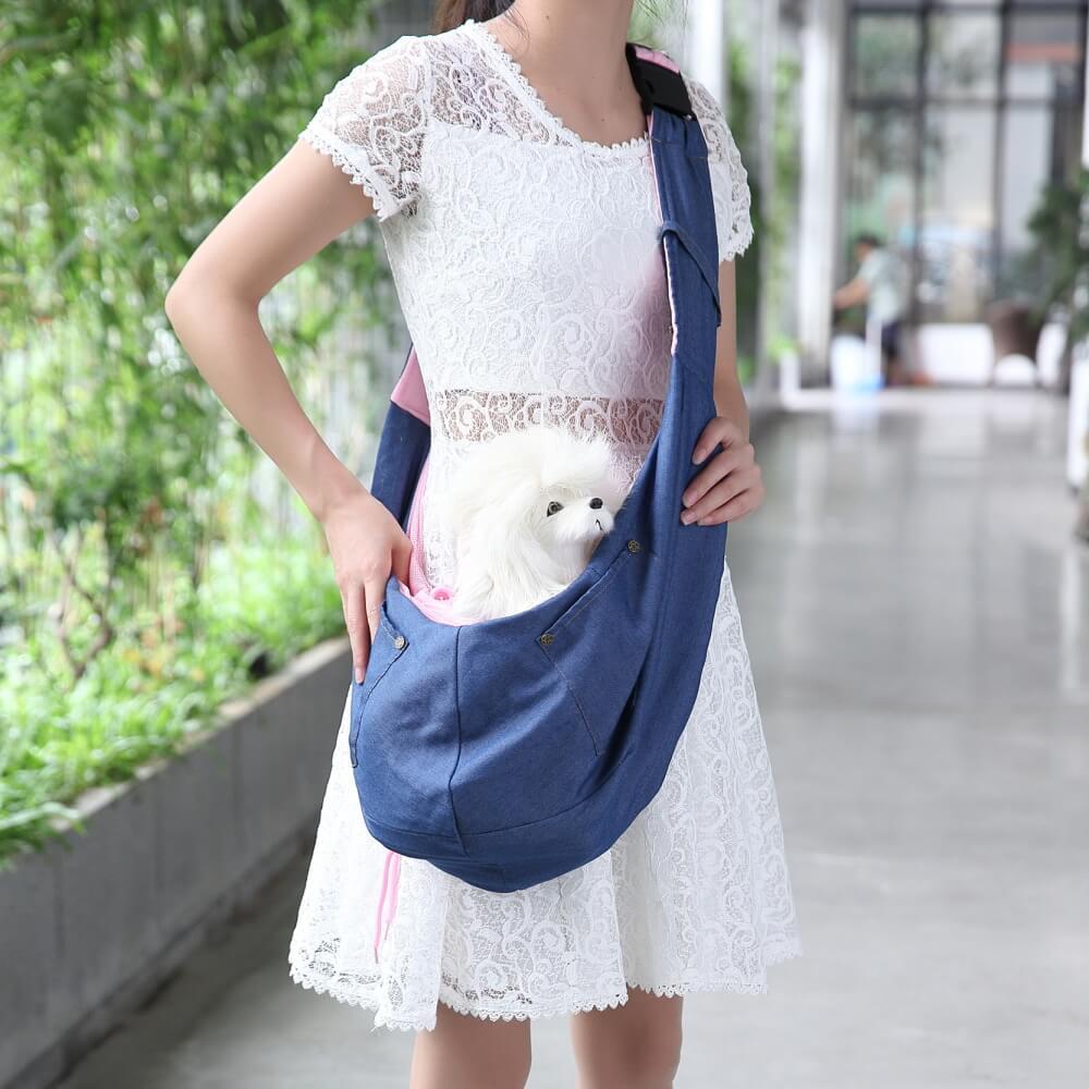 Vsepropejska Viola cestovní taška pro psa přes rameno