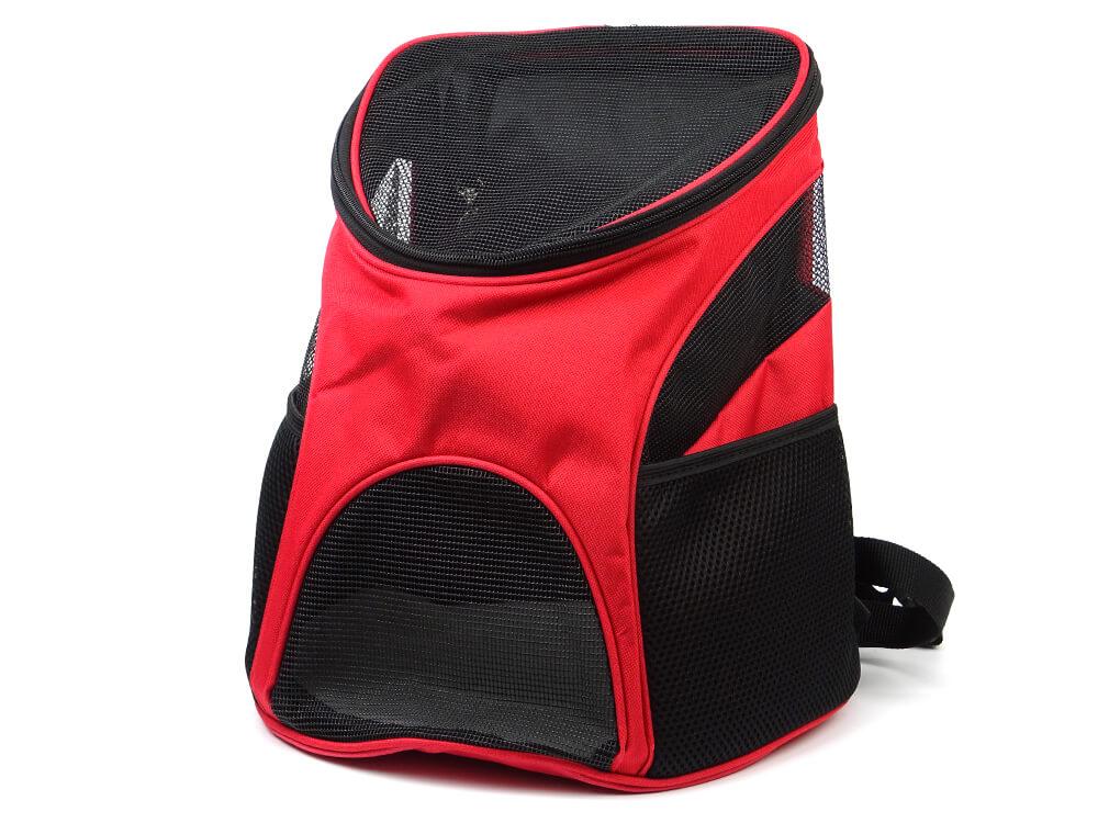 Vsepropejska Basic červený batoh pro psa