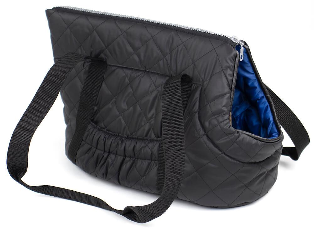 Vsepropejska Carry taška pro psa Barva: Černo-modrá, Dle váhy psa: do 2,5 kg