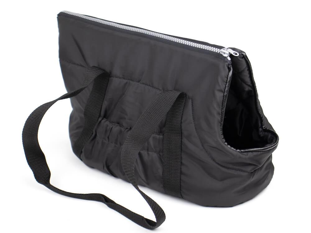 Vsepropejska Easy taška pro psa Barva: Černá, Dle váhy psa: do 4 kg