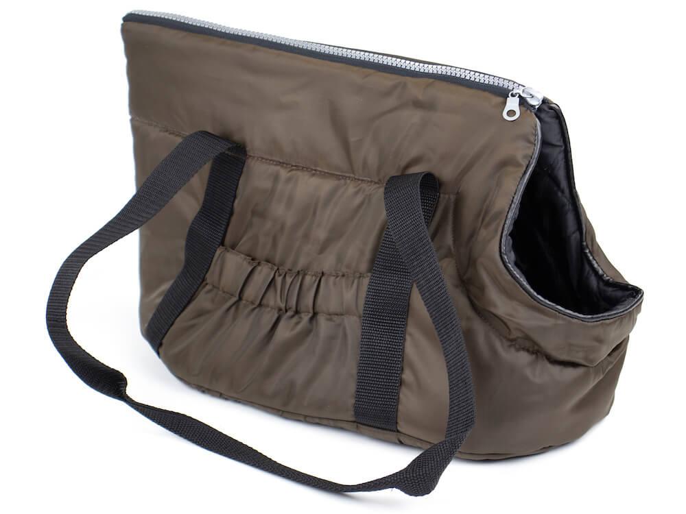 Vsepropejska Easy taška pro psa Barva: Hnědá, Dle váhy psa: do 2,5 kg