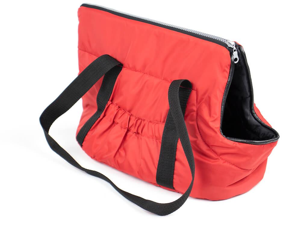 Vsepropejska Easy taška pro psa Barva: Červená, Dle váhy psa: do 2,5 kg