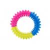 Dental barevný dentální gumový kruh pro psa | 9 cm - hračky pro psy - vsepropejska.cz
