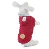 Argo vínový svetr pro psa