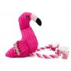 Pink růžový plyšový plameňák pro psa   35 cm - hračky pro psy - vsepropejska.cz