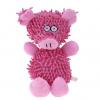Silky růžové plyšové prasátko pro psa | 20 cm - hračky pro psy - vsepropejska.cz