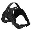 Sporty černý sportovní postroj pro psa | 45 – 91 cm