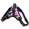 Sporty růžový maskáčový postroj | 46 – 85 cm