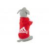 Adidog červená mikina pro psa