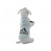 Adidog šedá mikina pro psa