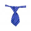 Honor modrá kravata pro psa s puntíky - kravaty pro psy - vsepropejska.cz