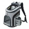 Smart šedo-černý batoh pro psa