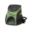 Basic tmavě zelený batoh pro psa | do 3 Kg