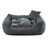 Snug tmavě šedý pelech pro psa
