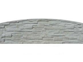 Betonové panely jednostranné