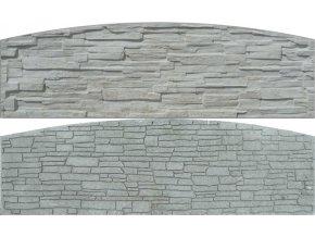 Betonové panely oboustranné