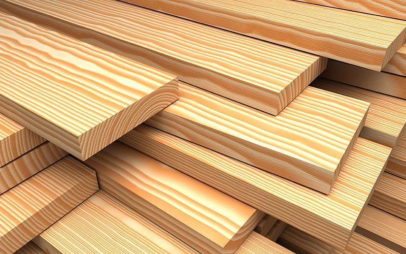 Dřevěné plotovky modřínové