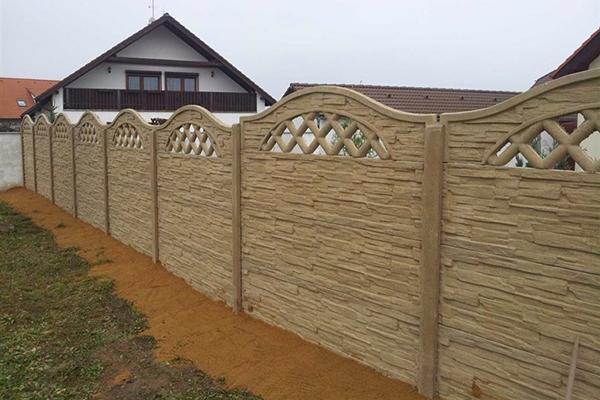 Návod na stavbu betonového plotu