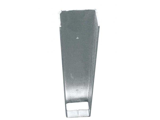 Stabilizační držák podhrabové desky koncový v. 300 mm vč. texu