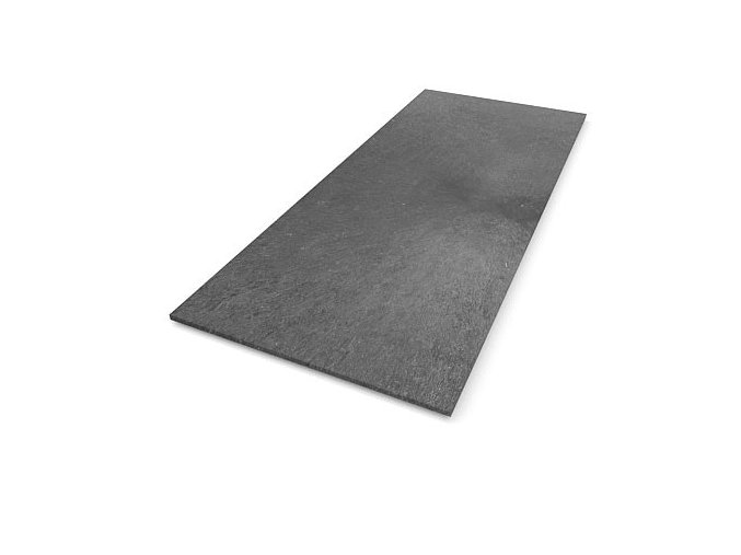 Recyklátová deska hladká 2000x800x20 mm, šedá