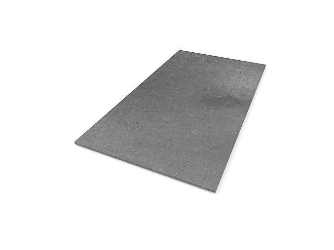 Recyklátová deska hladká 1500x800x17 mm,šedá