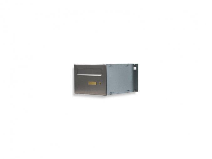 Poštovní schránka PSD-V 1xjmenovka,bez zvonku