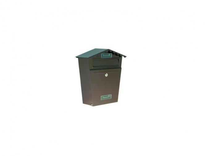 Poštovní schránka 29x36x10,5 bílá