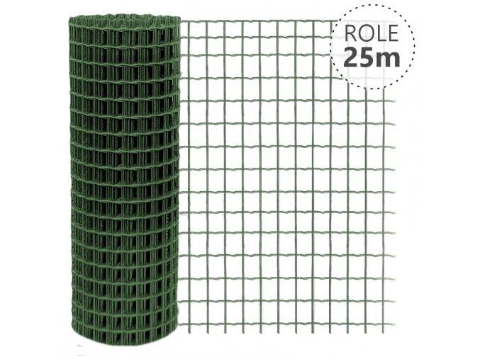 Pilonet Heavy oko 50x50/2,5mm/25 m zelené, výška dle výběru