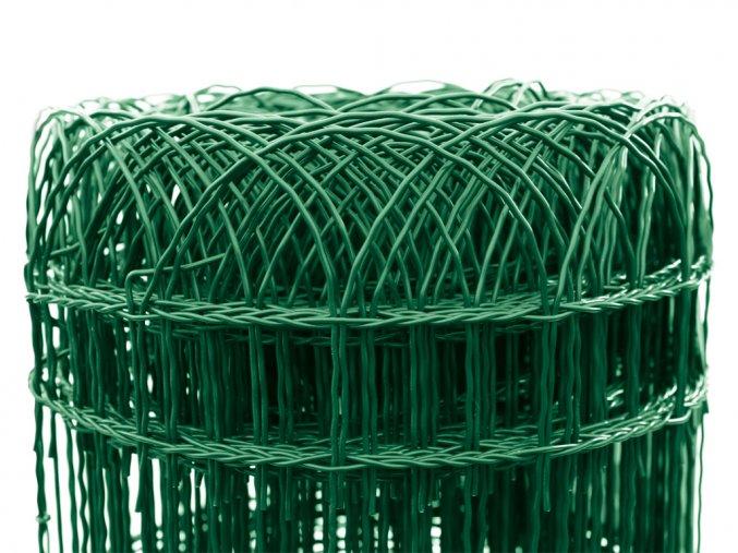 Pletivo Dekoran Zn+PVC, výška 900mm, role 25m, barva zelená