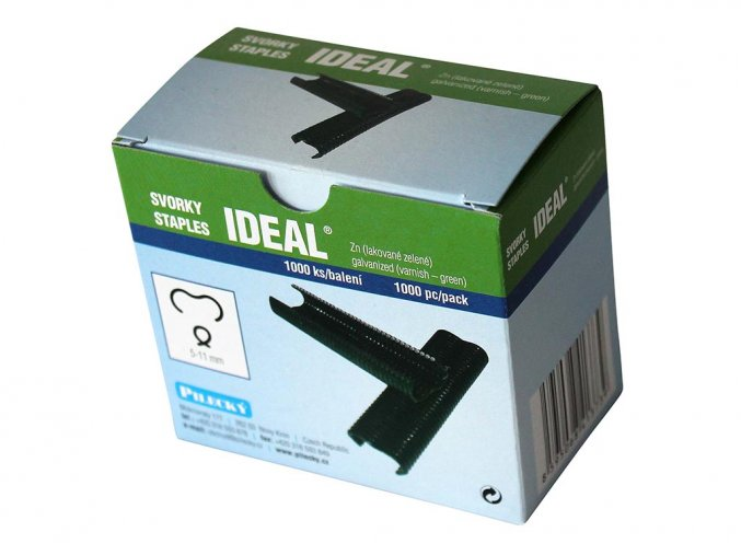 Svorka Ideal poplast - 1000 ks