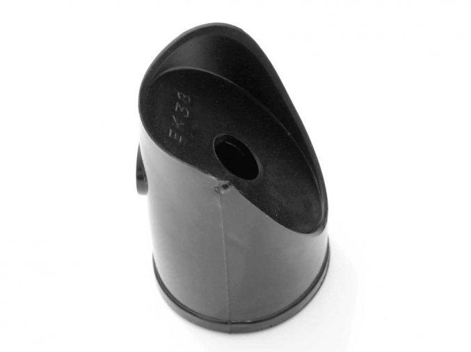 Úchyt vzpěry PVC 38mm vč.spoj.mateiálu,černá