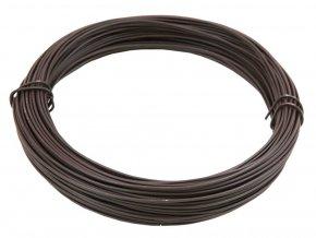 Vázací drát PVC 1,4/2,00 mm,50m hnědý