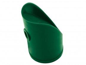 Úchyt vzpěry PVC 43mm vč.spoj.materiálu,zelená