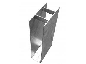 Stabilizační držák podhrabové desky průběžný v. 200 mm vč. texu