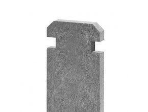 Recyklát prkno na kompostér 130x30 mm, 1,2 m, šedé