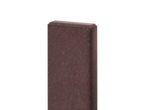 Recyklát prkno lavičkové 120x40 mm,1,7 m, hnědé