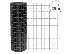 Svařované pletivo Pilonet Middle, oko 50 x 100mm, síla drátu 2,5mm, barva antracit, výška dle výběru