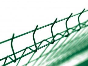 Pilofor Light Zn+PVC zelená 3D s prolisem, výška dle výběru