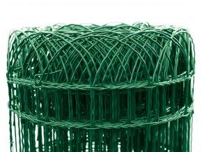 Pletivo Dekoran Zn+PVC, výška 900mm, role 10m, barva zelená