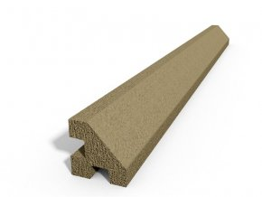 betonovy stlpik rohovy 220cm sand foto velka