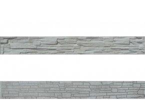 betonova doska obojstranna soklova gray foto velka