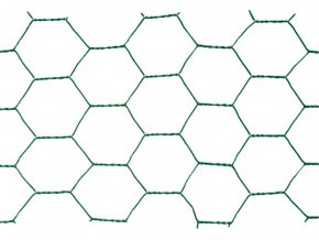 Chovatelské šestihranné pletivo Zn+PVC 16/1000 - 25m