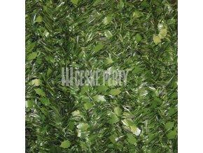 Umělý živý plot - jednostranný - zelené konopí 50x50 cm - 1 m2