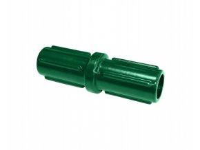 Nástavec pro sloupek 48 mm, zelený