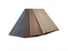 Dřevoplus profi plotovka 138x15x na míru mm, půlkulatá