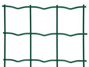 Svařované pletivo Pilonet Super Strong ZN+PVC, oko 50 x 50mm, síla drátu 3,5mm, role 20m, barva zelená, výška dle výběru