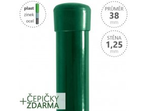 damiplast 38 125 zeleny D z1